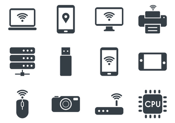 Tecnologia Icons - Free vector #417807