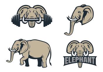 Free Elephant Vector - Free vector #418227