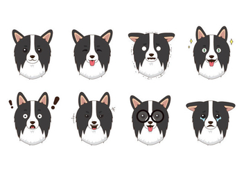 Free Border Collie Vector - Free vector #418737