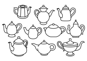 Free Teapot Vector - бесплатный vector #418787