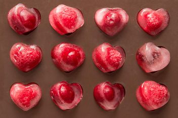 raspberries in shape of heart - Free image #419647