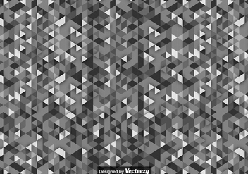 Vector Background With Gray Scale Triangles - Kostenloses vector #419917