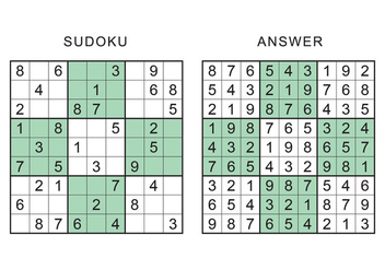 Sudoku Game - vector gratuit #420207