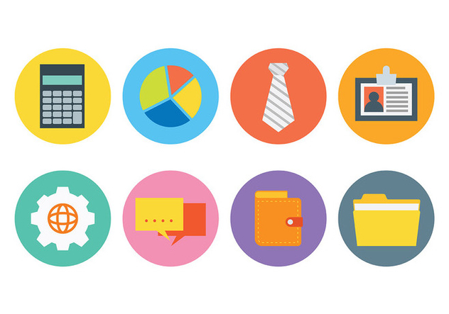 Free Business Icons Vector - Free vector #420797