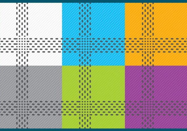 Threadbare Fabric Vectors - Free vector #420917