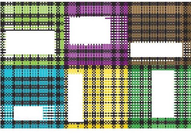 Torn Flannel Fabric Vectors - Free vector #420927