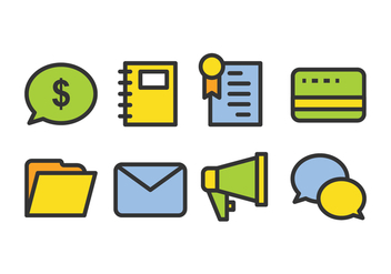 Business Icon Pack - Free vector #421017