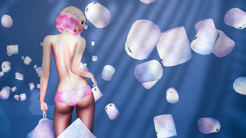 MadPea International Food Fair (Starts on February 18, 2017 at 12:00 pm) with Sweets Panties by Razor & Dancing Marshmallows by E.V.E - Free image #421237