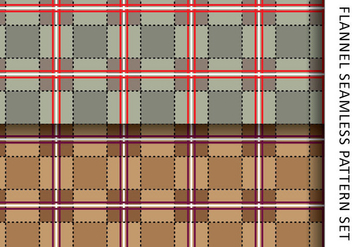 Casual Flannel Pattern - Free vector #421417