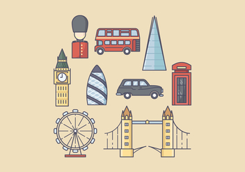 Free England Icons - vector gratuit #422037