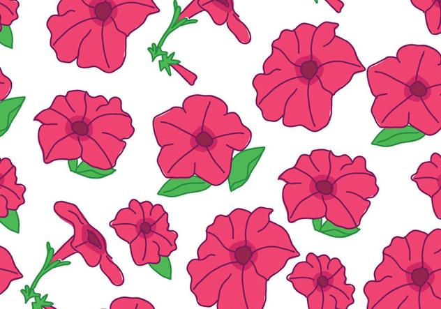 Petunia Pattern - Free vector #422087