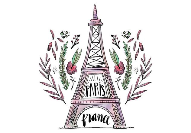 Free Eiffel Tower - Kostenloses vector #422307