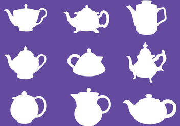Free Teapot Icons Vector - Free vector #422547