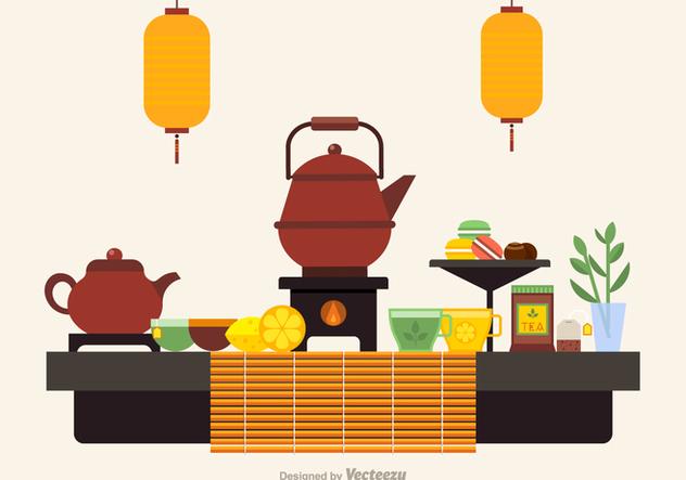 Free Tea Ceremony Icons Vector - vector #422557 gratis