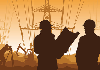 Surveyor Electricity Free Vector - Kostenloses vector #422567