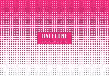 Free Vector Modern Pink Halftone Backgrpound - бесплатный vector #423057