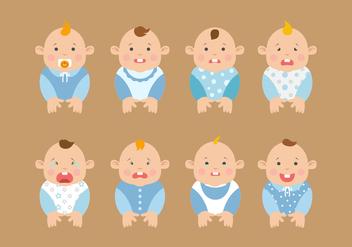 Free Baby Expression Vectors - Kostenloses vector #424037