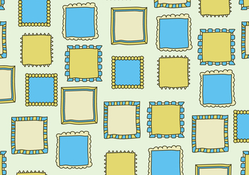 Yellow and Blue Frames - vector gratuit #424177