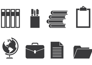 Educational Icons - Free vector #424637