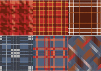 Flannel Fabric Pattern Color Vector - vector gratuit #424657