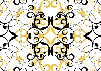 Seamless Floral Pattern Background - Free vector #424837