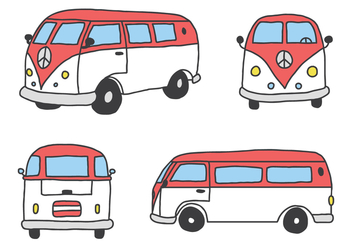 The Classic Caravan - Free vector #425037