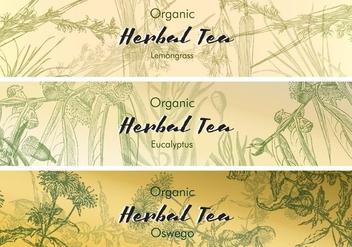 Tea Labels Vintage - Free vector #425057