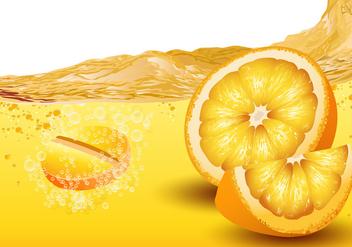 Citrus Flavored Effervescent Vector - vector #425187 gratis