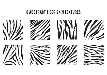 Simple Tiger Stripe Pattern - Free vector #425727