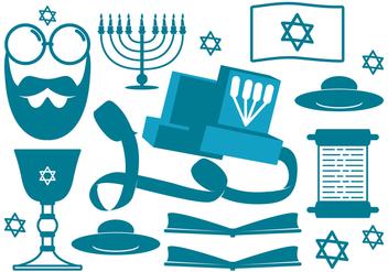 Jewish Religious Icons - Kostenloses vector #425867