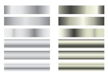 Grey Gradient Palettes - vector #426277 gratis