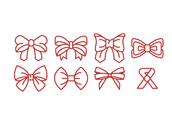 Ribbon Vector Icons - vector gratuit #426407