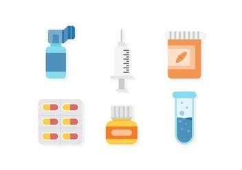 Free Therapeutic Medicine Vectors - Free vector #426427