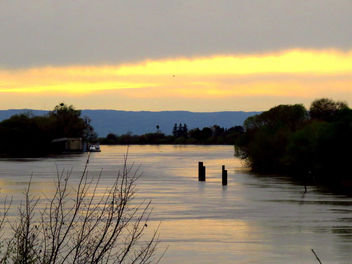 Sacramento River sunset - бесплатный image #427187