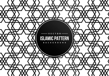 Islamic Pattern Background - vector gratuit #427597