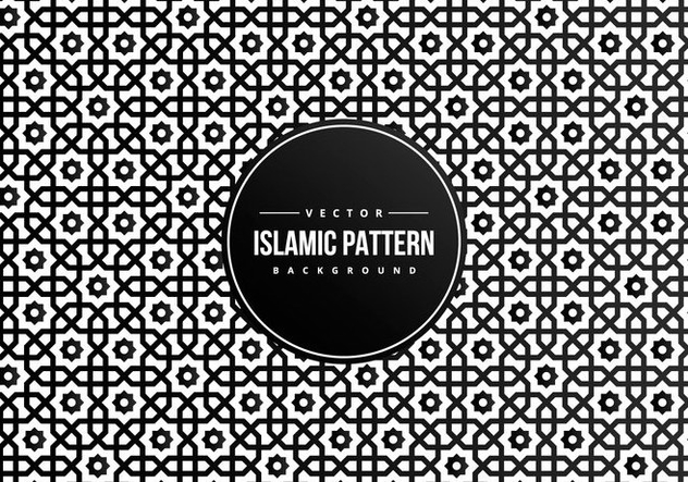 Islamic Style Pattern Background - vector #427757 gratis