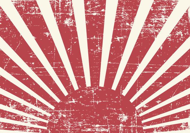 Old Grunge Kamikaze Style Background - бесплатный vector #428307