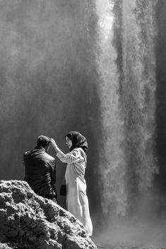 Tendresse sous la cascade - image #428397 gratis