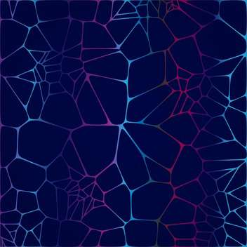 Vector illustration of abstract dark blue background with web - Free vector #125927