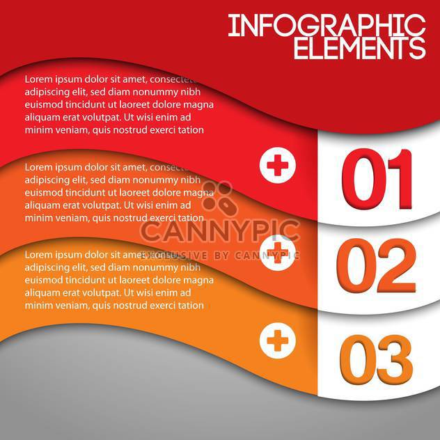 Orange background with numbers and space for text - Kostenloses vector #128177