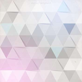 abstract geometric pattern background - vector gratuit #129057