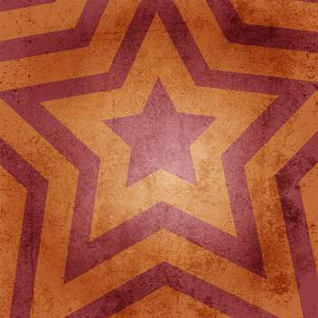 Vector orange retro star background - vector gratuit #129697