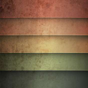 Rainbow horizontal lines vintage background - Free vector #130867