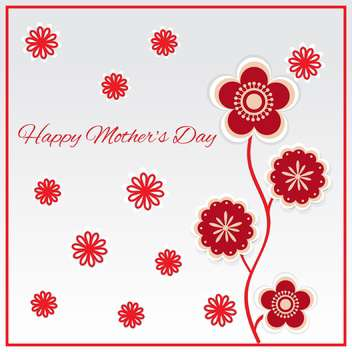 Happy mother day background vector illustration - Free vector #131747