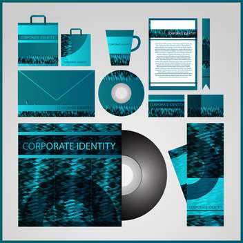 business corporate templates background - vector gratuit #133327