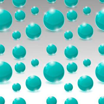 vector seamless pattern of bubbles - Free vector #133837