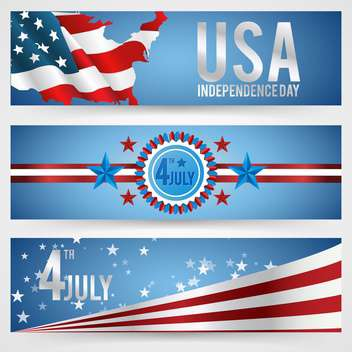 american independence day background - vector gratuit #133937