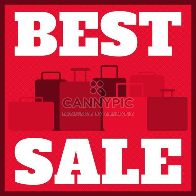 shopping sale poster background - Free vector #134107