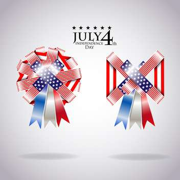 usa independence day illustration - vector #134147 gratis