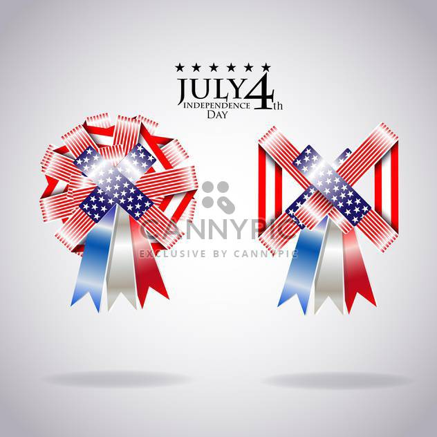 usa independence day illustration - Free vector #134147